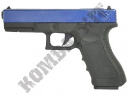 CT17 Airsoft BB Gun Black and Blue